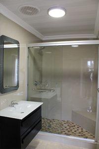 el gran chaparral guesthouse room zorba the greek bathroom