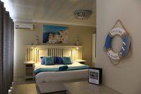 el gran chaparral guesthouse room zorba the greek bed